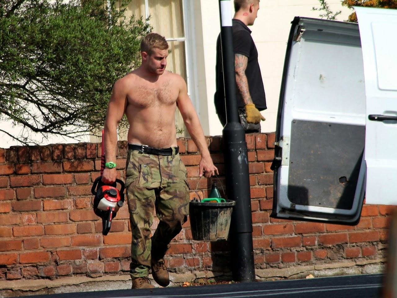 Hot Guy At Work