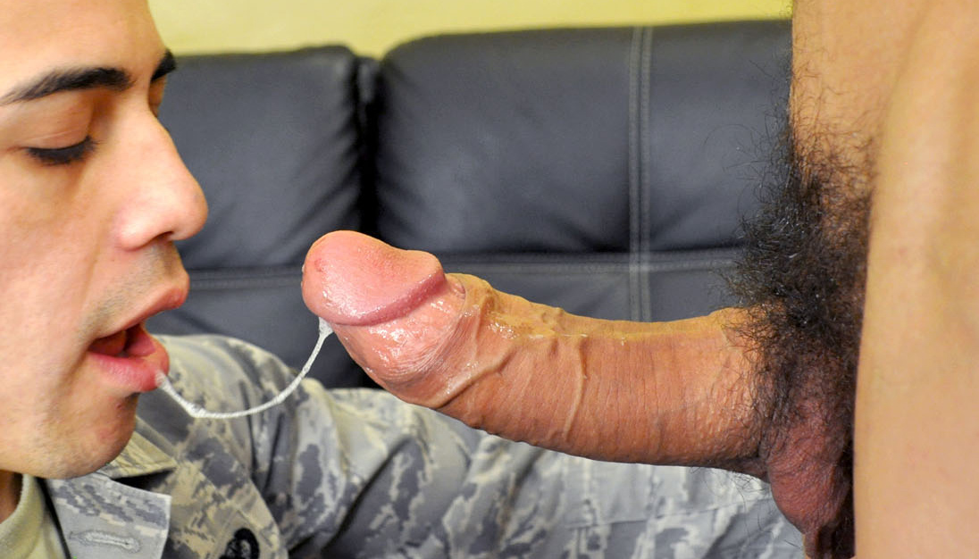 his 1st gay cock