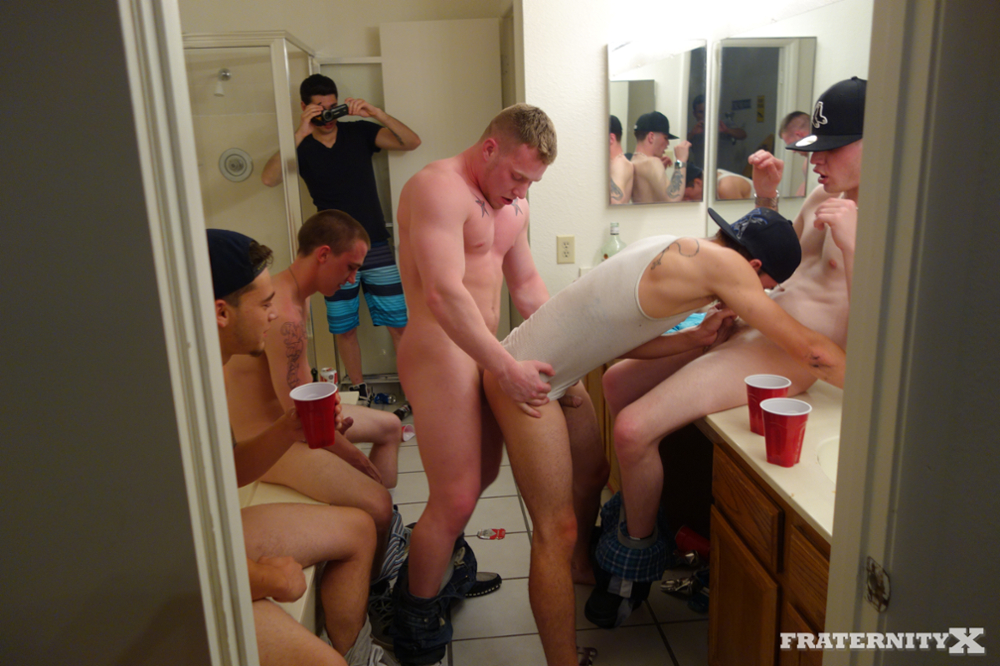 18 year old gangbang
