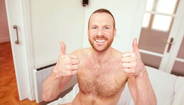 Free gay red head male porn