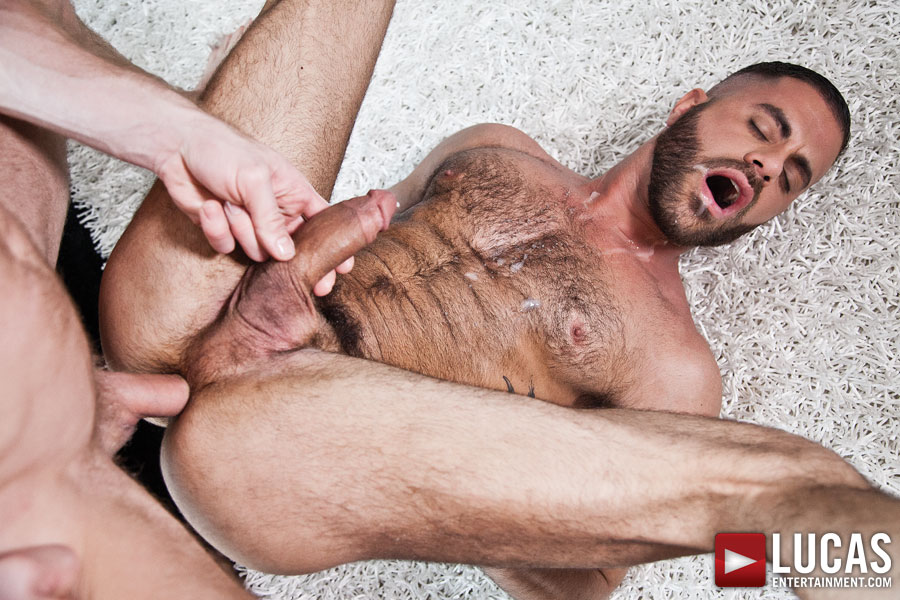 Christopher Daniels makes his bareback sex debut with Marcus Isaacs on gay porn site Lucas Entertainment.