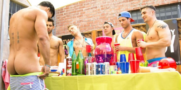 HELP! I Got Hazed By Practically Naked Frat Boys & Now I Think I Am Gay.