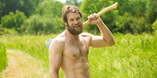 Hot Flash: Colby Keller Gets Naked Outdoors For Menelik Puryear