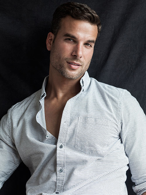 James Guardino is a sexy male model.