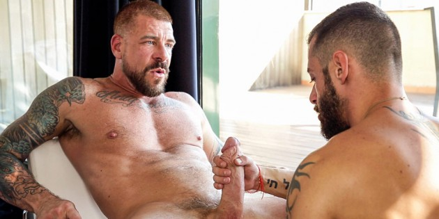 Cock-A-Doodle Do Me: Get Acquainted With Rocco Steele's Massive 10 x 7 Inch Meat