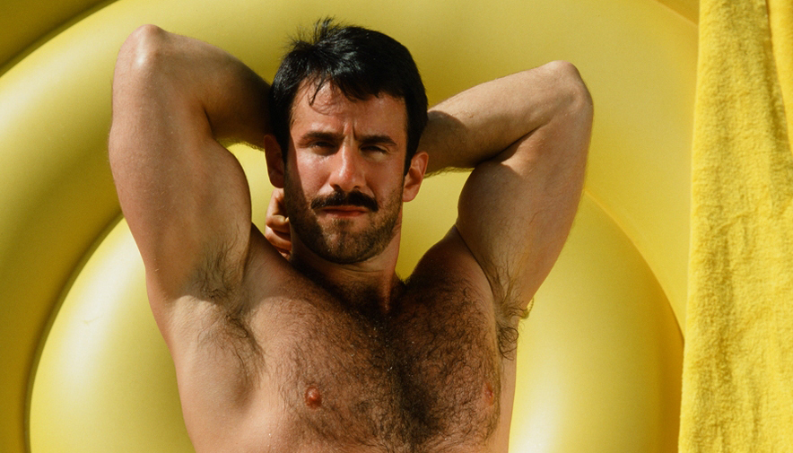 Steve Kelso in a newly released COLT Icon spread of high-quality gay porn images.