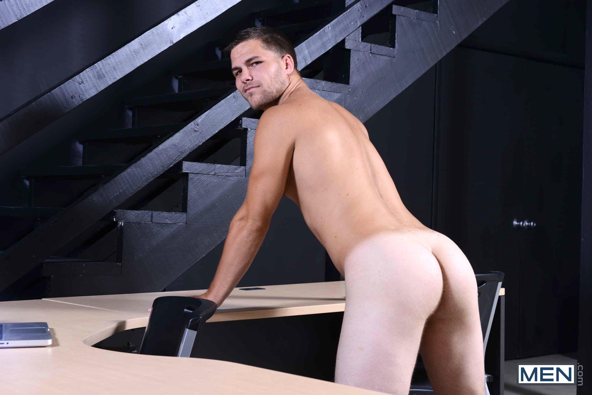 Jimmy johnson gets his straight virgin ass stretched open colby jansen in a gay porn scene for top to bottom