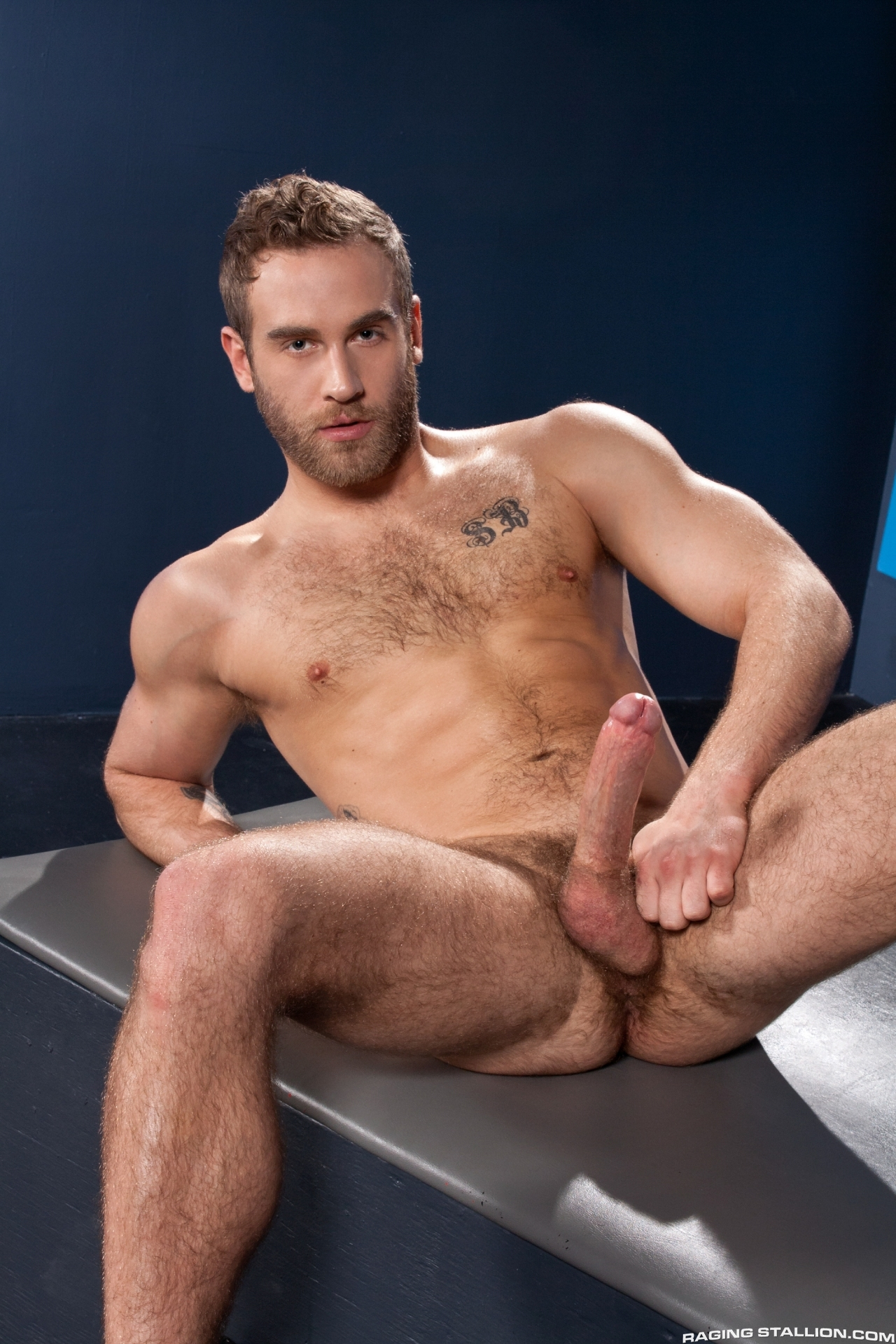 Lawson Kane fucks Shawn Wolfe in the gay porn film Want It Now by Raging Stallion.