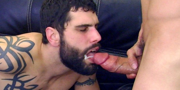 Private Antonio Meets Eddy Adams' Ridiculously Thick 9 x 8 Inch Dick