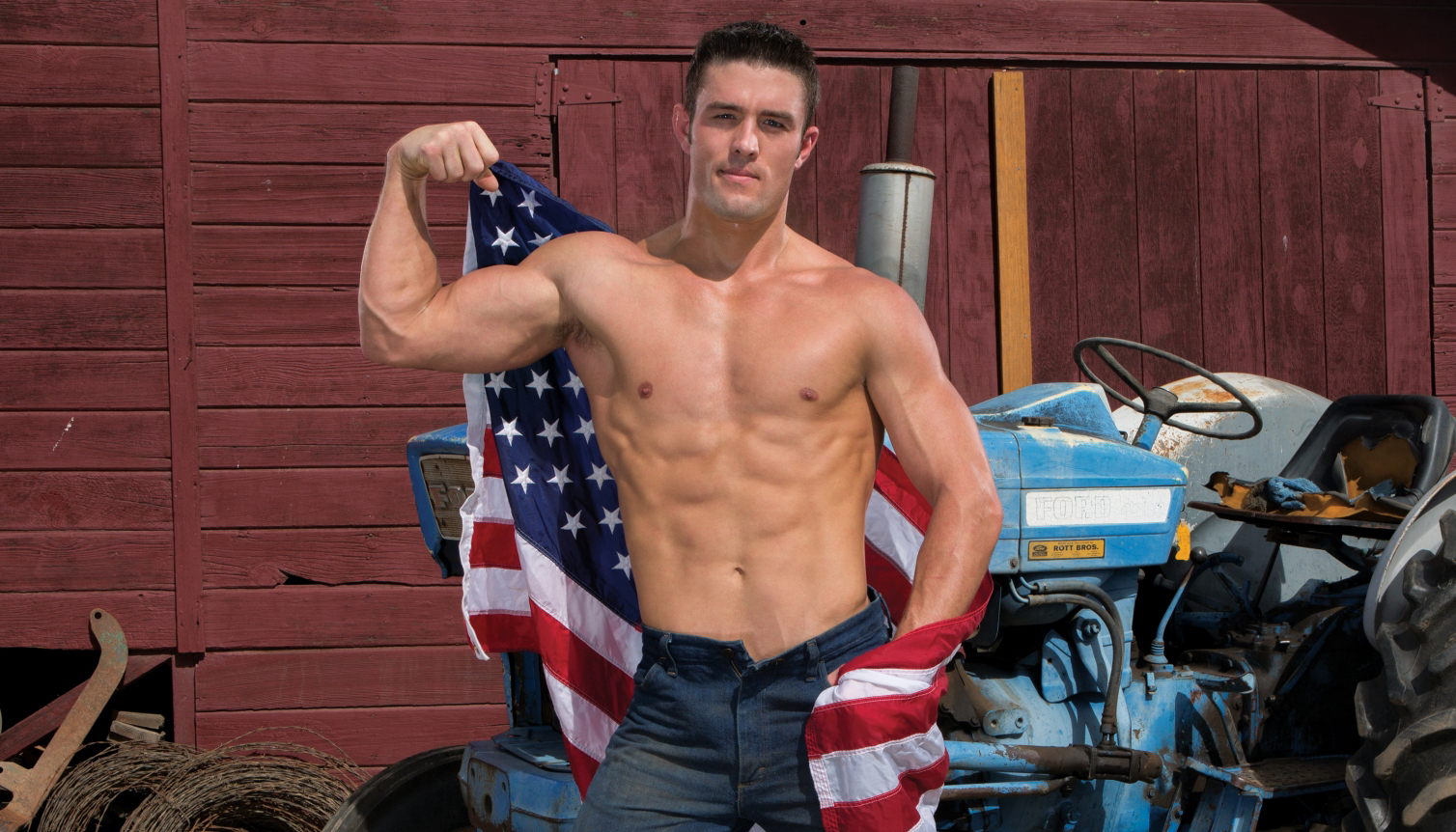 Ryan Rose in Saddle Up by gay porn studio Hot House.
