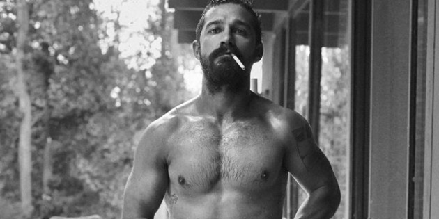 Half-Naked Shia LaBeouf Is Suspiciously Hot In Interview Magazine Shoot