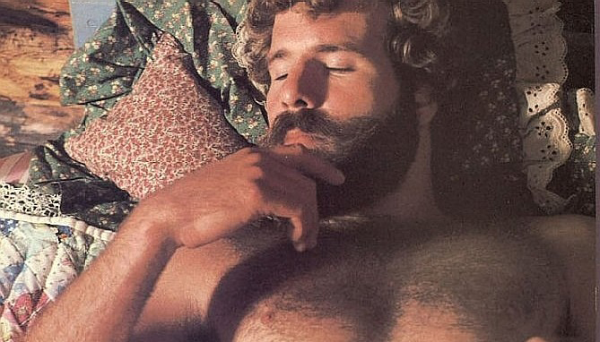 Steve D'Auria in a June 1978 solo porn spread for Playgirl.