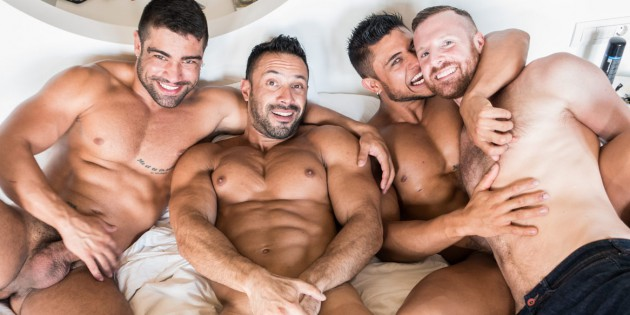 Four Play: Tim Kruger's Hot Tub Orgy