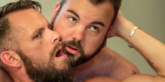 Woof Alert: Aiden Storm Rams Bone Flexx In Front Of The Mirror