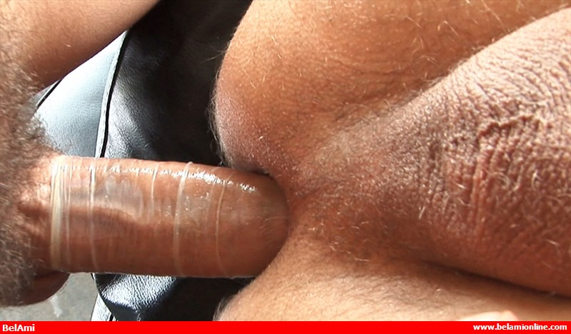 Kris Evans bottoms for Brandon Manilow on gay porn site Bel Ami.