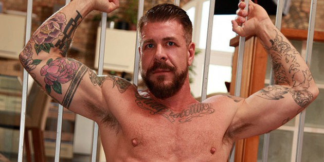 Daddy's Boys: Rocco Steele Fills Damian Gomez With His Massive 10 x 7 Inch Meat