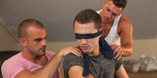 Three's Company: Damien Crosse Gets Voyeuristic With Paddy O'Brian & Theo Ford