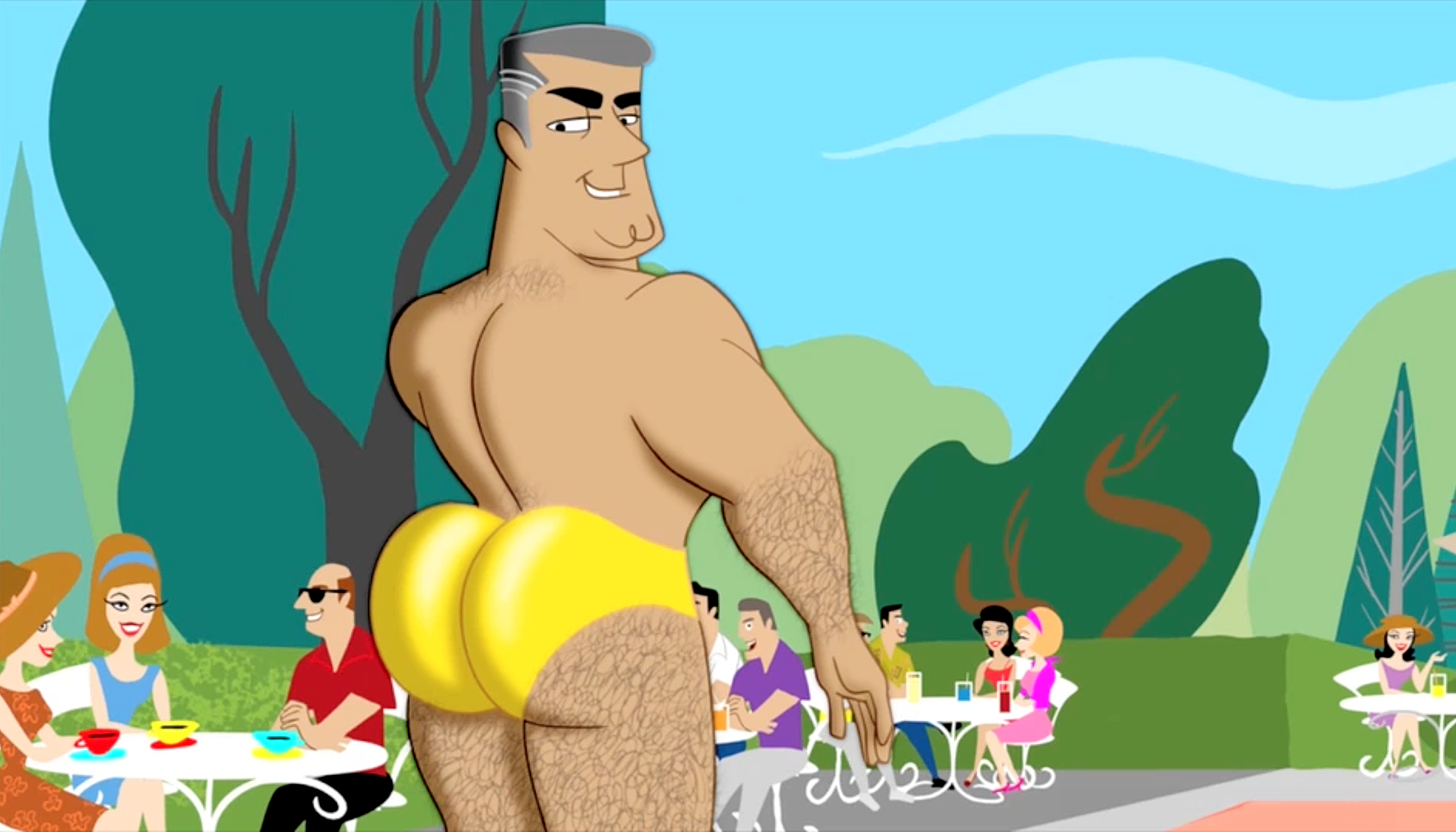 The best gay erotic animation and illustration of 2014
