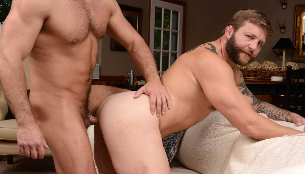 Colby Jansen bottoms for Dirk Caber in a flip-fuck from Son Swap