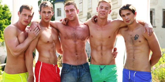 Party Of Five: Connor Maguire's Orgy With The Bel Ami Boys