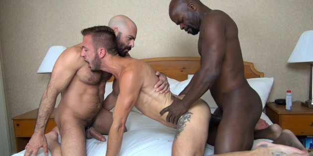Three's Company: Cutler X & Adam Russo Double-Dick Dylan Hyde