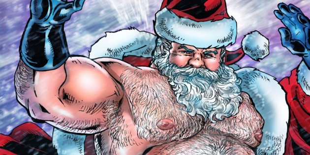 Drawn To You: Don Chooi Shows You Santa's Big, Fat Uncut Dick