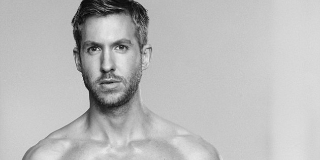 Celebrity Skin: Calvin Harris Shows Major Bulge For Emporio Armani