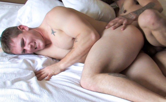 Active Duty's Beefy Military Jock Randy Is Bottoming Again!