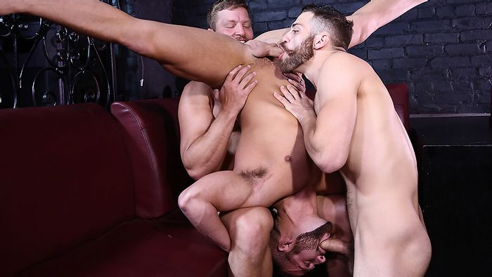Colby Jansen and Tommy Defendi Fuck Luke Adams