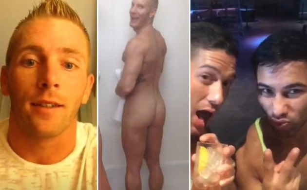 Scott Riley and Many Gay Porn Stars on Periscope