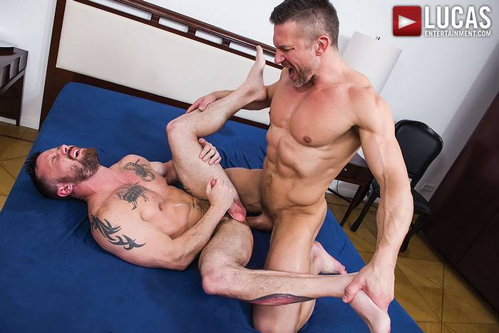 Tomas Brand Sergeant Miles Gay Porn Muscle Bareback Sex 9