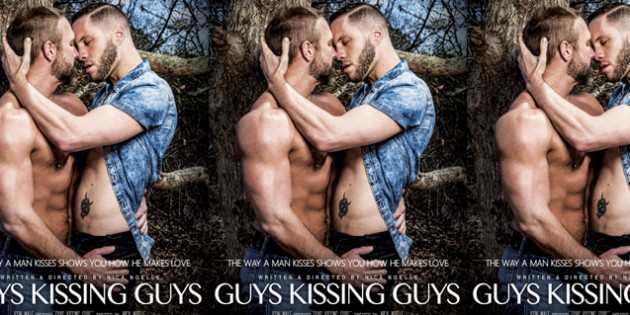 "Icon Male's ""Guys Kissing Guys"" is a Total Soap-Opera"