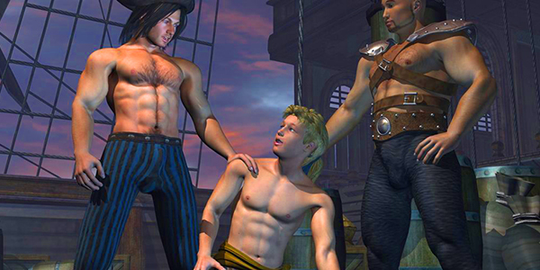 Happy Columbus Day 2: GAY PIRATES!
