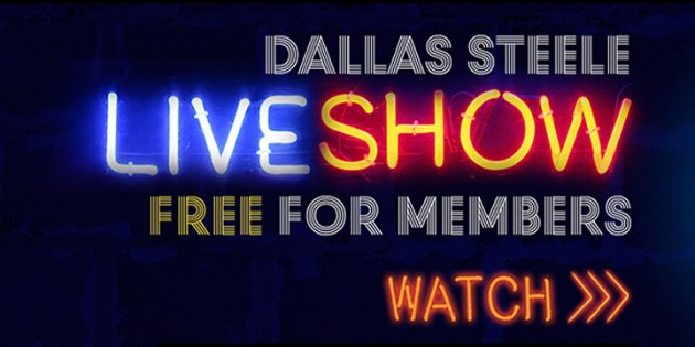 Gentle Reminder: Dallas Steele LIVE at Titan TONIGHT!