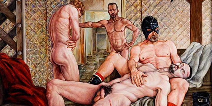 Delmas Howe, Leslie Lohman, Gay, Art, Classical, Nude, Southwest, Erotic, Sexual, Naked